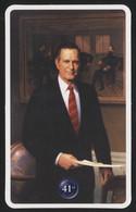 GEORGE HERBERT WALKER BUSH - 41st President Of The United States - Biography Card (MIL-15) - Uomini Politici E Militari