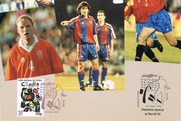 30634. Tarjeta BARCELONA 1994. Barnafil 94. FUTBOL Barça - 1931-Hoy: 2ª República - ... Juan Carlos I