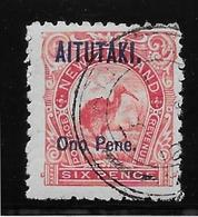 Aitutaki N°6 -  Oiseaux - Oblitéré - TB - Aitutaki