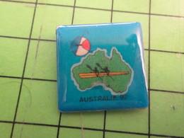 413e Pin's Pins : Rare Et Belle Qualité : THEME SPORTS / AVIRON OU CANOE AUSTRALIE 1992 CHAMPIONNAT DU MONDE - Rowing