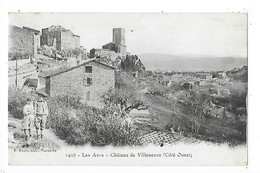 LES ARCS  (cpa 83)  Château De Villeneuve (côté Ouest)    -  L 1 - Les Arcs