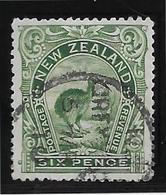Nouvelle Zélande N°77 -  Oiseaux - Oblitéré - TB - Used Stamps