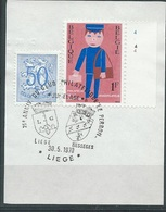 België  O.B.C.  1511  (O)  Plaatnummer 4  Liège - Used Stamps