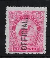 Nouvelle Zélande Service N°31 -  Oiseaux - Neuf * Avec Charnière - TB - Officials