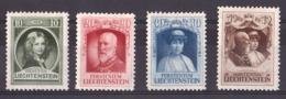 Liechtenstein - 1929 - N° 90 à 93 - Neufs * - Prince François 1er - Ungebraucht