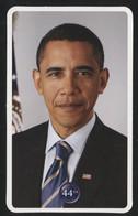 BARACK HUSSEIN OBAMA II - 44th President Of The United States - Biography Card (MIL-18) - Uomini Politici E Militari
