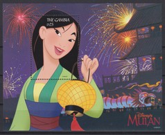 2463  -  The GAMBIA - Disney - 1998 - MULAN Portret,close-up . - Disney