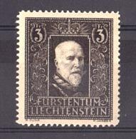 Liechtenstein - 1938 - N° 153 - Neuf ** - Prince François 1er - Liechtenstein