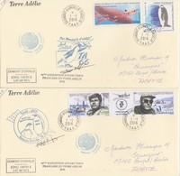 2 LETTRES TAAF 2016    /   3 - Französische Süd- Und Antarktisgebiete (TAAF)