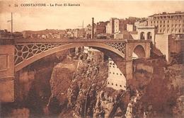 ¤¤  -   ALGERIE   -   CONSTANTINE   -  Le Pont El-Kantara    -   ¤¤ - Constantine