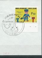 België  O.B.C.  1528  (O)  Plaatnummer 2  Herentals - Used Stamps