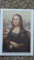 CPM TABLEAU DE LA JOCONDE DETOURNE MARCEL DUCHAMP NOUVELLES IMAGES JOCONDE A MOUSTACHES - Paintings