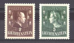 Liechtenstein - 1944 - N° 213 Et 214 - Neufs ** - Couple Princier - Ungebraucht
