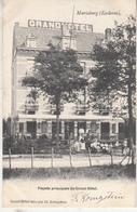 Mariaburg (Eeckeren) - Voorgevel Van Het Grand Hôtel - Eig. Fr. Königstein - 1904 - Geanimeerd - - Hotels & Restaurants