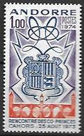 ANDORRE    -   1974  .  Y&T N° 239 **. - Andorre Français