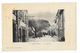 LA GARDE-FREINET  (cpa 83)    La Grand'Rue   -  L 1 - La Garde Freinet