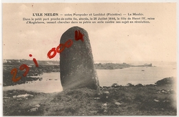 L'ILE MELON Entre PORSPODER Et LANILDUT - France