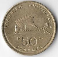 Greece 1990 50 Drachmas [C807/2D] - Greece