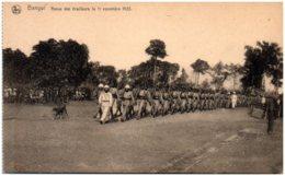 BANGUI - Revue Des Tiralleurs Le 11 Novembre 1923 - Centraal-Afrikaanse Republiek