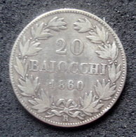 Monnaie Etat Italien Papal States PIUS IX 1860 - …-1861 : Before Reunification