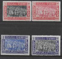 ESPAGNE - 1938 - YVERT N°640/643 ** MNH - COTE = 50 EUR - 1931-50 Neufs