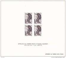 Épreuve YT 2319 République Type Liberté - Essais