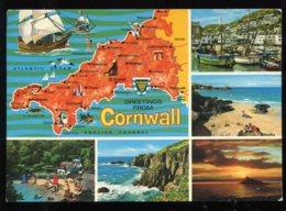 CPM Royaume Uni CORNWALL Multi Vues - Reino Unido