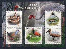 GUINEE-BISSAU - BLOC-FEUILLET - MINIATURE SHEET - OISEAUX - BIRDS - 2018 - - Guinée-Bissau
