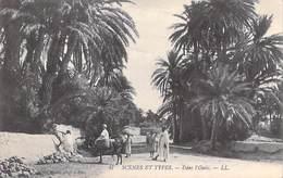 Afrique-Algérie- Scènes & Types  DANS L'OASIS  (Editions LL 47 )  *PRIX FIXE - Scènes & Types
