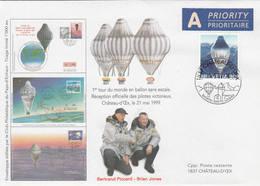 VOL BALLON   CHATEAU-D'OEX   1999 - Poste Aérienne