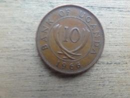 Ouganda  10  Cents  1966  Km 2 - Uganda