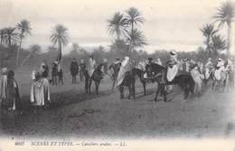 Afrique-Algérie- Scènes & Types  CAVALIERS ARABES  (chevaux Horses) (Editions LL 6027)  *PRIX FIXE - Scènes & Types