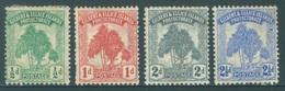 GILBERT ELLICE -  MH/* - 1911 - PANDANUS - Yv 8-11 -  Lot 18263 - SEE SCANS - LOW PRICE !!! - Îles Gilbert Et Ellice (...-1979)