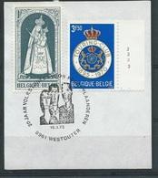 België  O.B.C.  1569   (O)   Plaatnummer  3  Westouter - Used Stamps