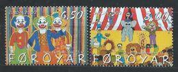 Féroé YT 419-420 XX / MNH Europa Cirque Circus - Féroé (Iles)
