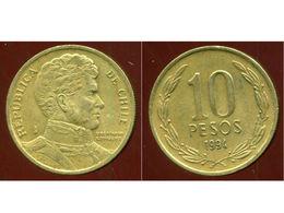 CHILI 10 Pesos 1994 - Chile