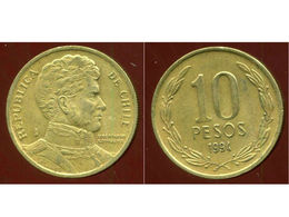 CHILI 10 Pesos 1994 - Chili