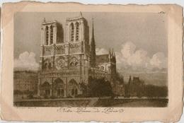 Paris - Notre Dame -  ORIGINAL - EAU-FORTE PAR CH. PINET- N°46 - Vrouwen