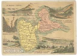Chromo Cafés En Grains Trébucien : Guadeloupe ( Pointe à Pitre ) - Thé & Café