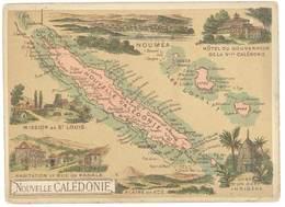 Chromo Cafés En Grains Trébucien : Nouvelle Calédonie ( Nouméa ) - Thé & Café