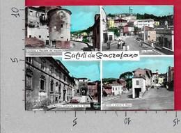 CARTOLINA VG ITALIA - Saluti Da SACROFANO (ROMA) - Panorama Vedutine - 10 X 15 - ANN. 1967 - Saluti Da.../ Gruss Aus...