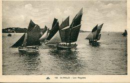 35 - SAINT-MALO - Les Régates - Saint Malo