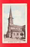 21 - Les Maillys : L'église, Cpa écrite - France