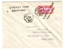 Côte Des Somalis Maury N° 119 Sur Très Belle Lettre De 1930. B/TB. A Saiisir! - Französich-Somaliküste (1894-1967)