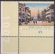 2007 Deutschland Mi. 2580 **MNH  EUL  1000 Jahre Fürth - BRD