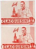 Buvards, Protège-cahiers Illustrés > Autres CLACQUESIN 2 Buvards - Autres