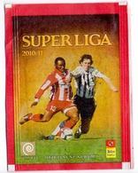Unopened Packet Bustina Bag SUPERLIGA 2010/11 Serbian First Football League Serbia - Stickers