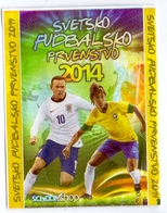 Unopened Packet Bustina Bag WORLD CUP 2014 FIFA BRAZIL Serbia Edition Neymar - Stickers