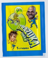 Unopened Packet Bustina Bag BRAZUKA  WORLD CUP 2014 FIFA BRAZIL Serbia Edition Neymar - Stickers