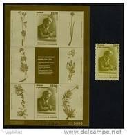 ABKHAZIE 1996, BOTANISTE ALBOV, 1 Feuillet Non Dentelé + 1 Valeur. EMISSION OFFICIELLE / OFFICIAL ISSUE. R686 - Géorgie